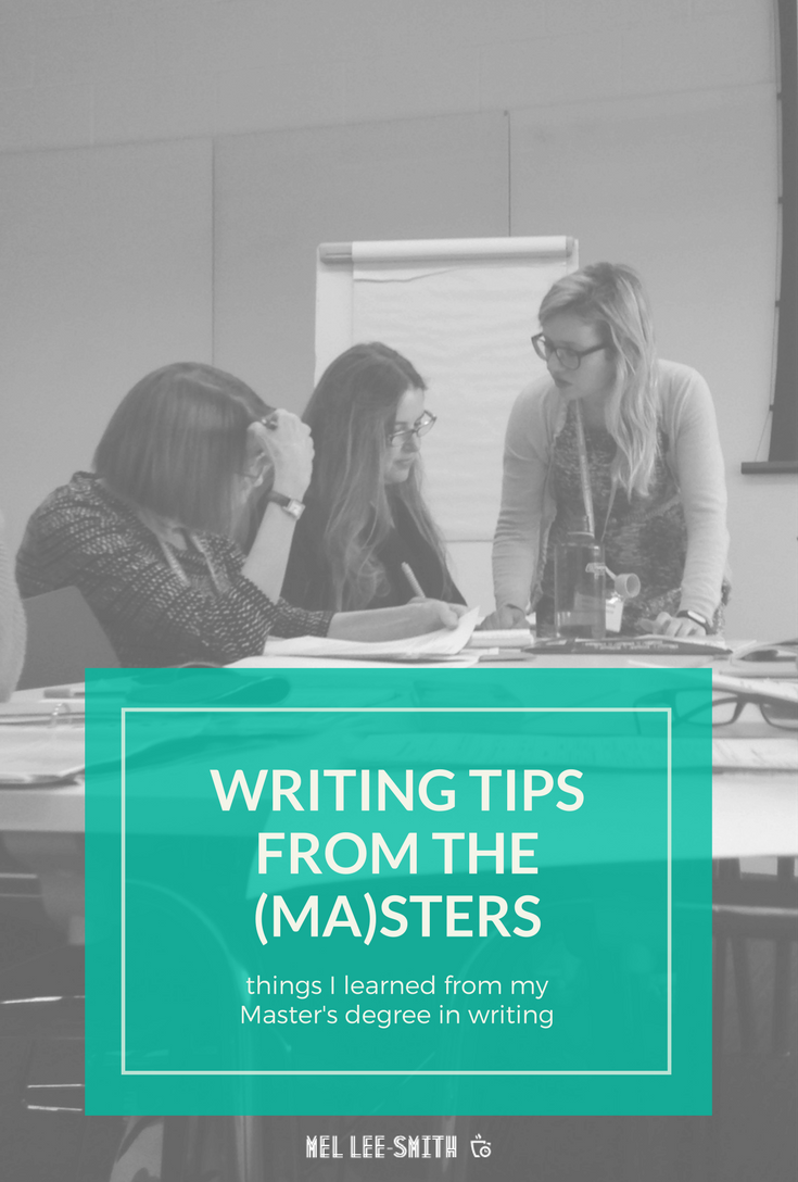 Writing tips from the masters