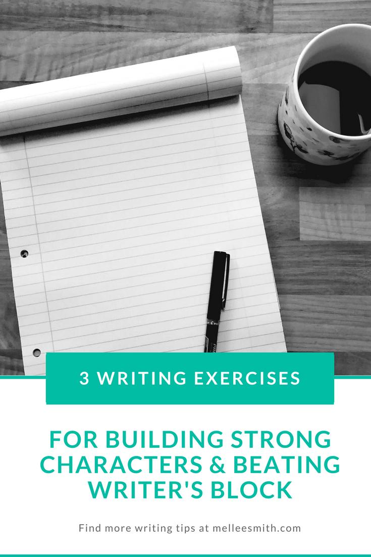 writing exercises to overcome writer's block pinterest