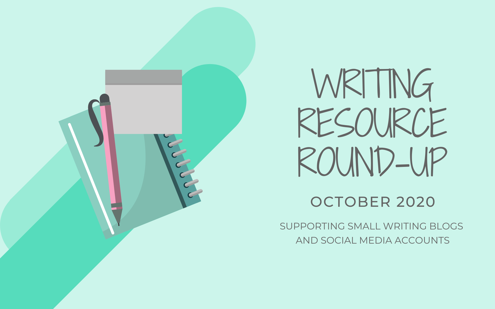 writing resource round up october 2020 featured image